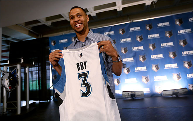 AP Source: Brandon Roy mulling another retirement