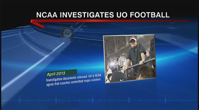 Timeline of NCAA investigation into Oregon football (1)