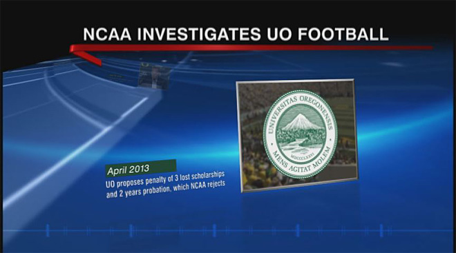 Timeline of NCAA investigation into Oregon football (2)