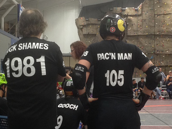 Transgender Roller Derby Player