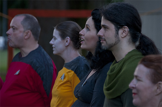 Trek Theater brings Next Generation inspired play to Sladden Park