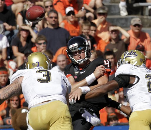 Beaver Football: Mannion doing best to remain positive