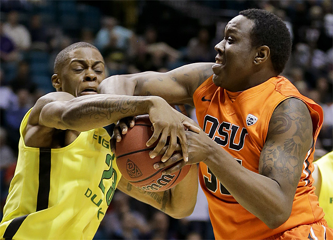 Ducks beat Beavers 88-74 in Pac-12 tournament