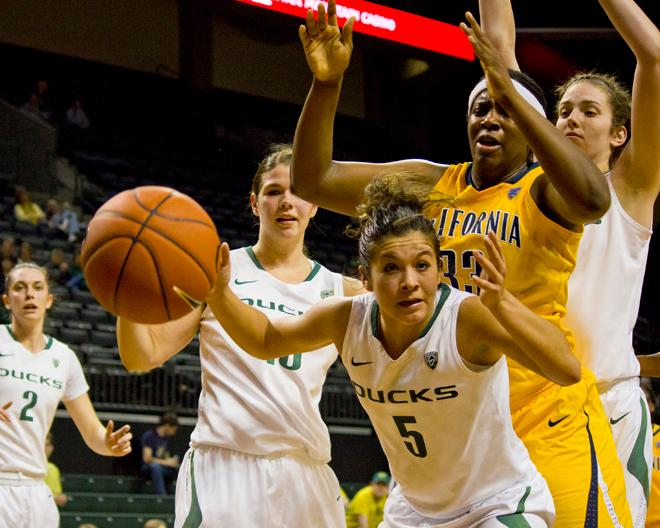UO women against Cal (2)