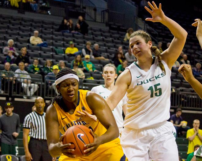 UO women against Cal (3)