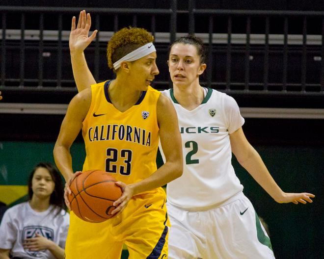 UO women against Cal (5)