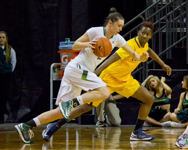 UO women against Cal