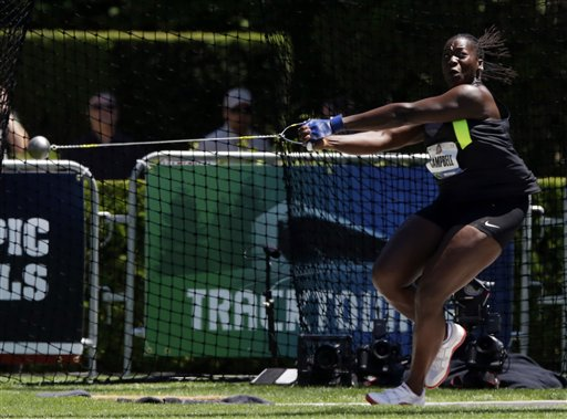 Hammer Time: Olympic Trials open up at Nike