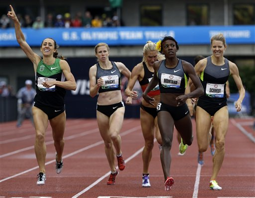 Montano, Gall and Schmidt make Olympic 800m team