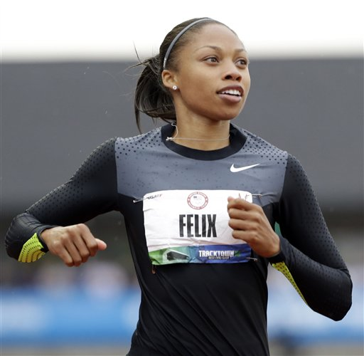 Felix sets sights on elusive Olympic gold in 200