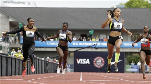 US 100-meter tiebreaker runoff set for Monday