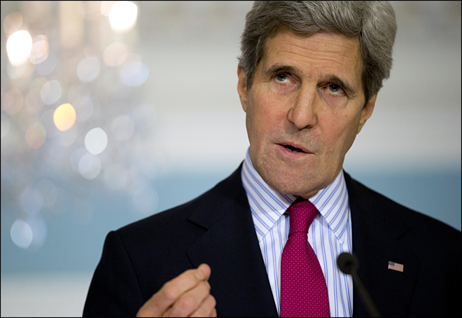 Kerry: Repercussions for Putin 'act of aggression'