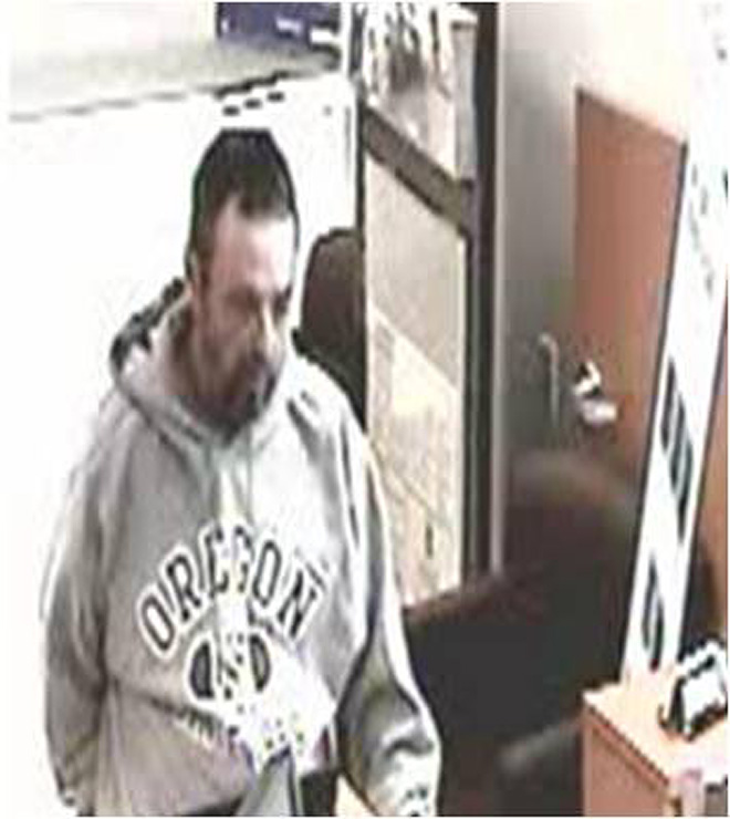 FBI: Same man suspect in Roseburg, Salem bank robberies