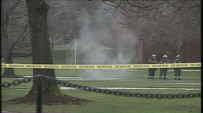 Underground explosions on UO campus January 7 (12)