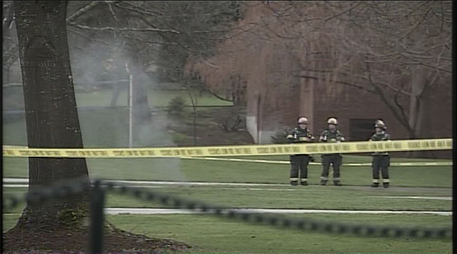 Underground explosions on UO campus January 7 (3)