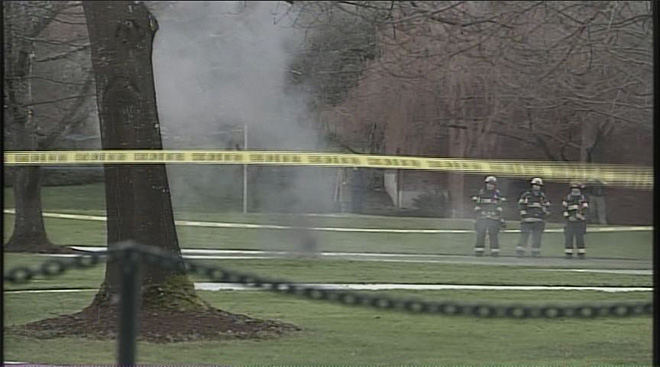 Underground explosions on UO campus January 7 (8)