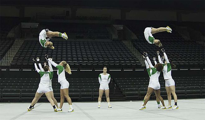 University of Oregon Acrobatics and Tumbling Team vs Baylor Bears (67)
