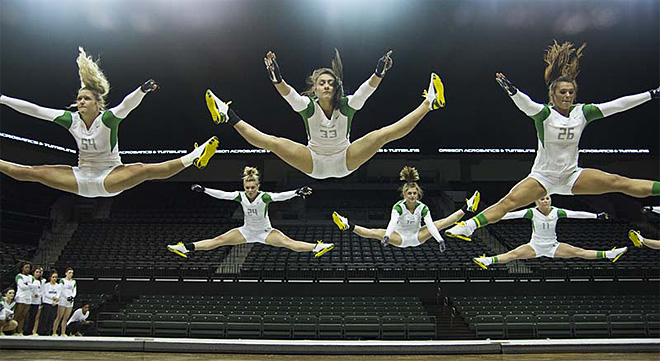 University of Oregon Acrobatics and Tumbling Team vs Baylor Bears (68)