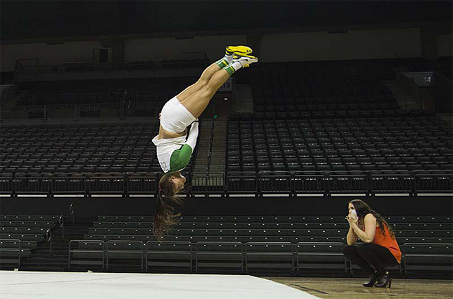 University of Oregon Acrobatics and Tumbling Team vs Baylor Bears (70)