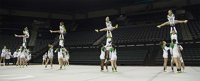 University of Oregon Acrobatics and Tumbling Team vs Baylor Bears (72)