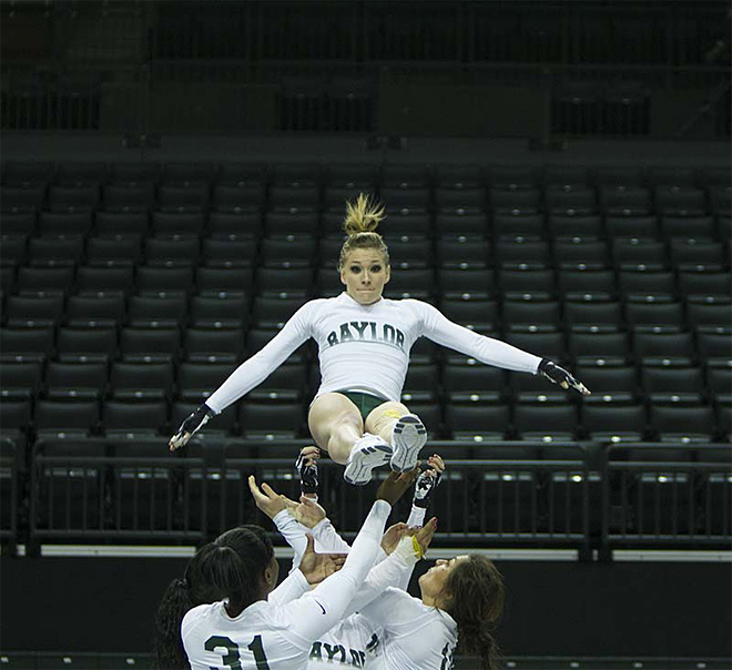 University of Oregon Acrobatics and Tumbling Team vs Baylor Bears (74)