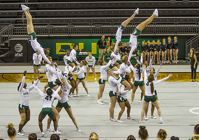 University of Oregon Acrobatics and Tumbling Team vs Baylor Bears (8)