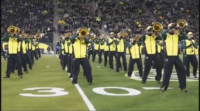 University of Oregon band funding (2)
