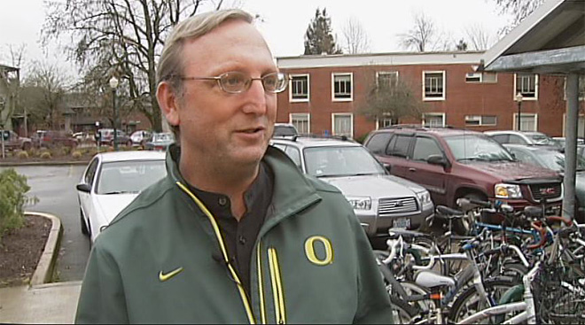 University of Oregon band funding