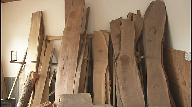 Urban Lumber Company salvages trees that fell during ice storm 03