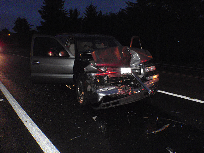 Police: Woman driving drunk at 6 in morning crashes, takes off