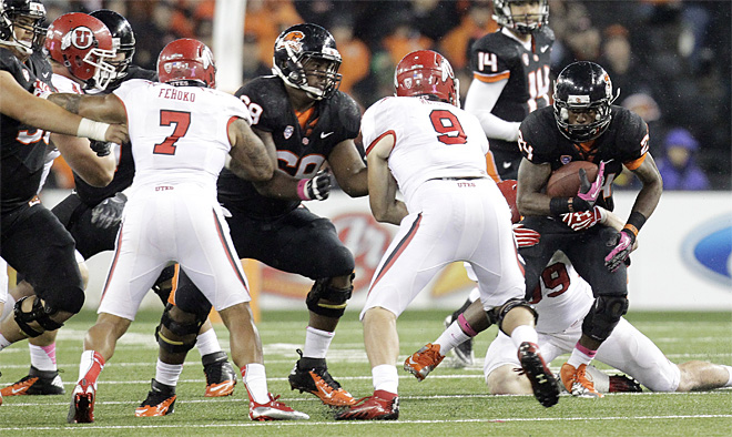 Utah Oregon St Football