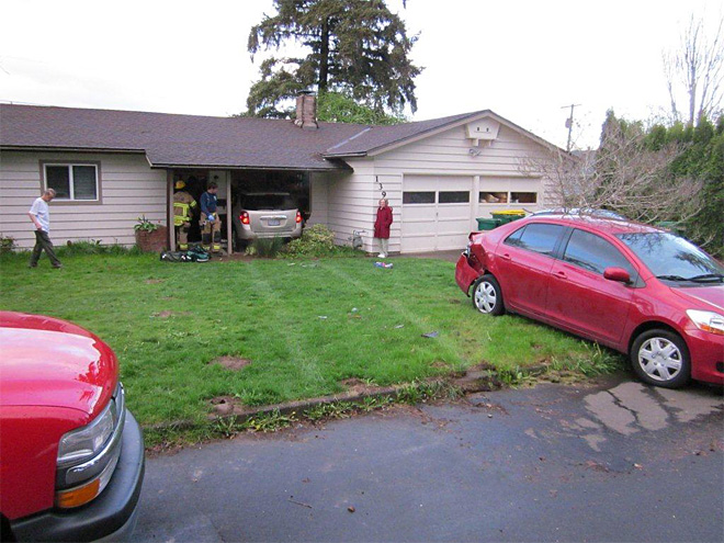 Driver suffers medical problem, crashes SUV into Beaverton house