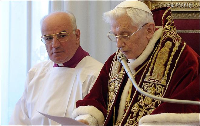 Pope Benedict to resign, says I 'recognize my incapacity'