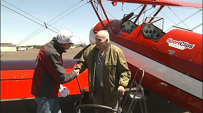 Ageless Aviation for World War II veterans: 'We're a little older now'