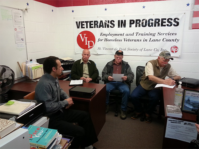VIP: Veterans helping veterans find jobs