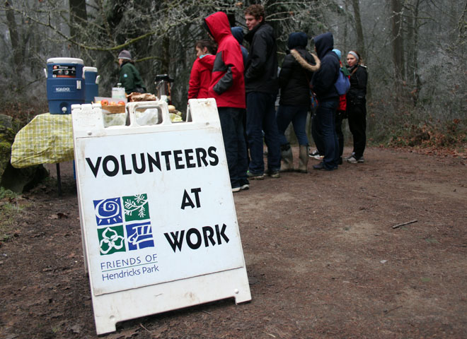 Volunteers help maintain Hendricks Park (11)