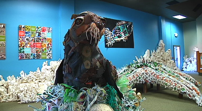 Bandon's 'Washed Ashore' sculpture project goes national