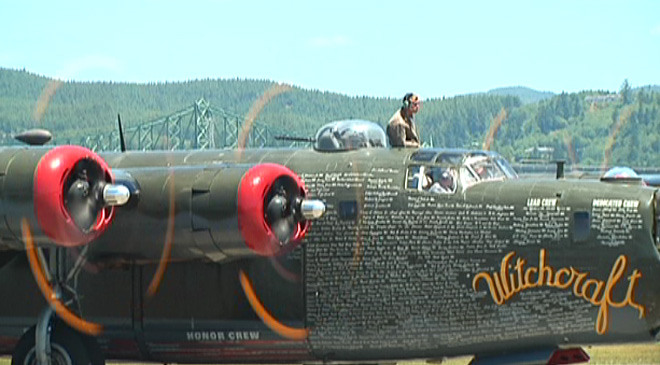 WWII planes visit Coos County (6)