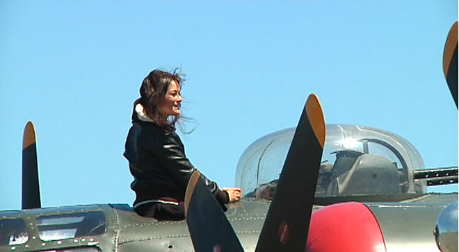 WWII planes visit Coos County (9)