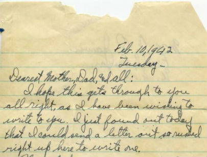 Lost WWII letters from Oregon soldier coming back to family