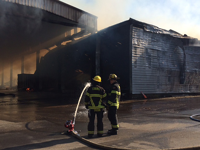 Warehouse fire in Harrisburg - 3