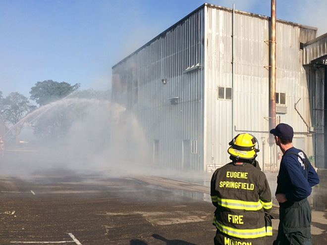 Warehouse fire in Harrisburg - 7