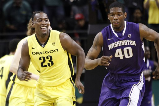 Washington Oregon Basketball