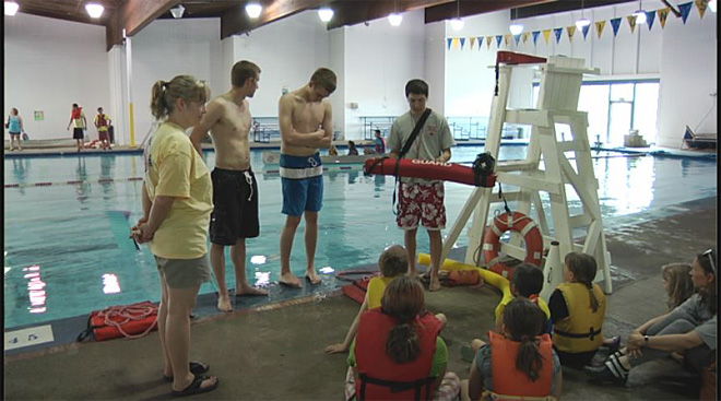 Water Safety Day at the Warren H Daughtery Aquatic Center 2