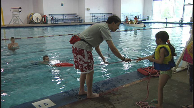 Water Safety Day at the Warren H Daughtery Aquatic Center 6