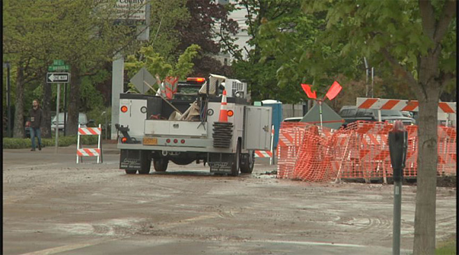Water main break in Corvallis (2)