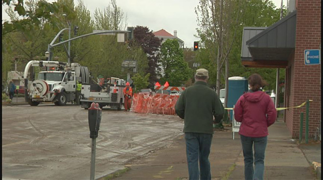 Water still out to some Corvallis businesses