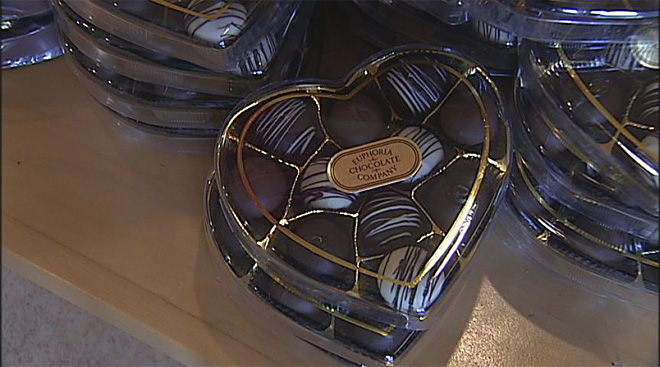 Why chocolate is synonymous with romance
