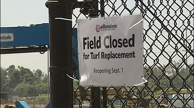 Willamalane Parks District replaces turf fields 02