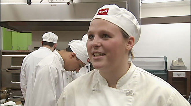 Willamette High School culinary competition